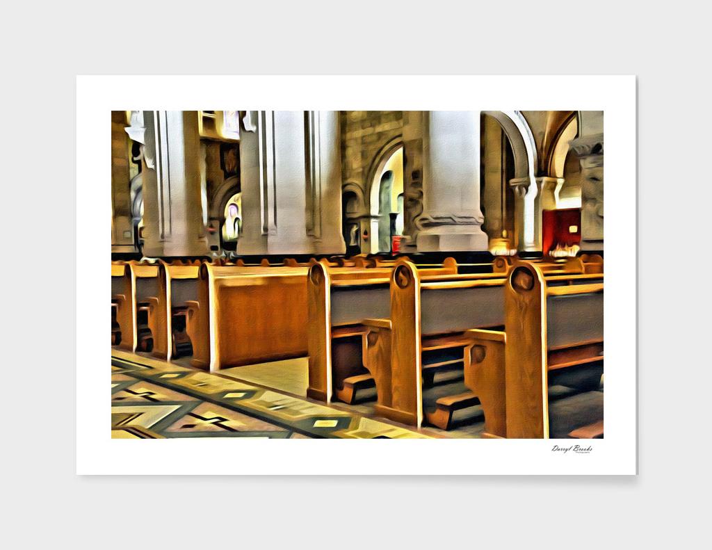 Pews in Church