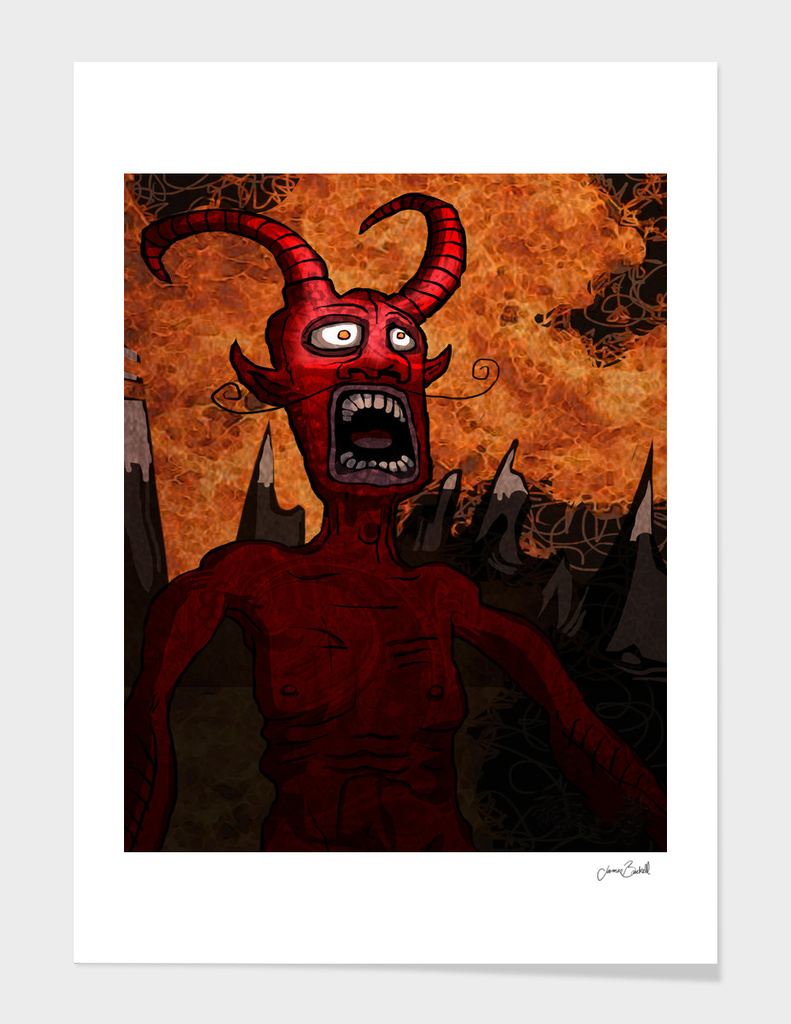 sunrise in hell