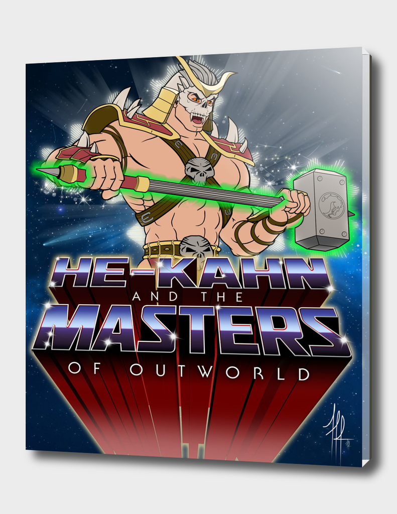 HE-KAHN and the MASTERS of OUTWORLD