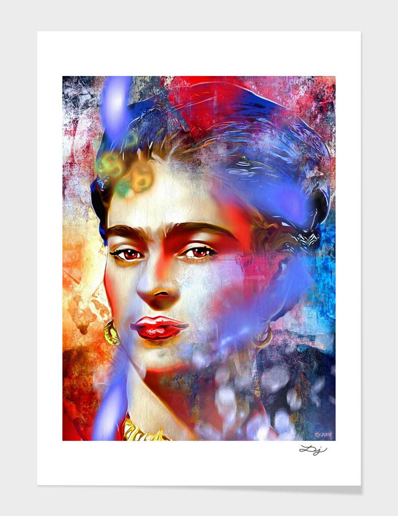 Frida Kahlo Painted