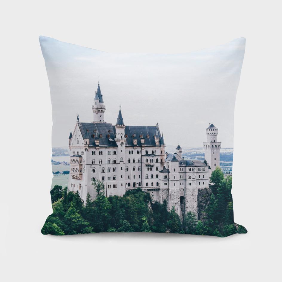 Neuschwanstein Castle Blue