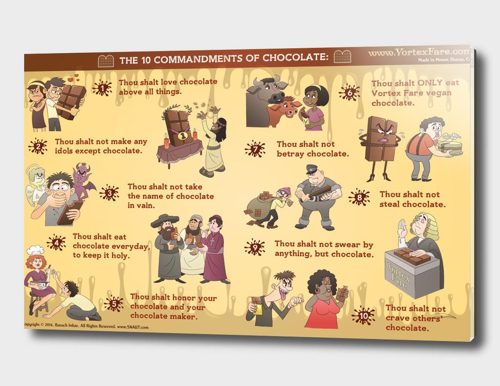 10 Commandments of Chocolate