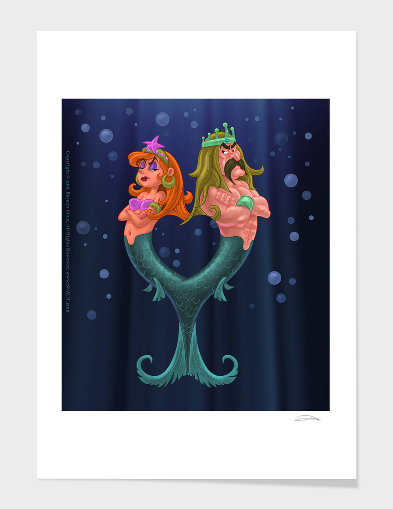 The Double Mermaid