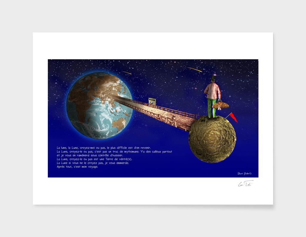"""La Lune"" Texte E.Tchijakoff - Illustration D.Dubois"