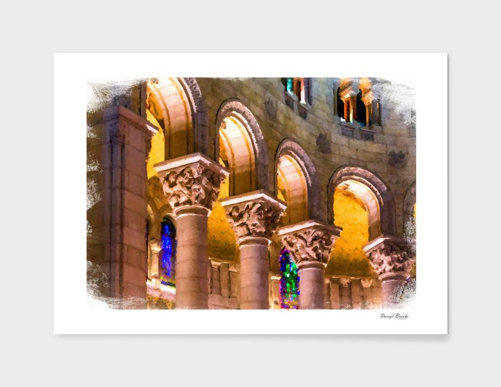 Columns Under Arches