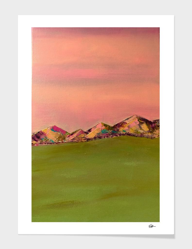 Pink Mountains 2