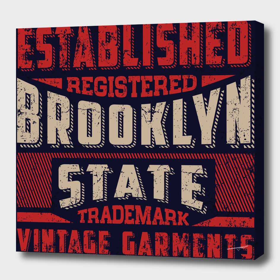 Established Brooklyn State Trademark