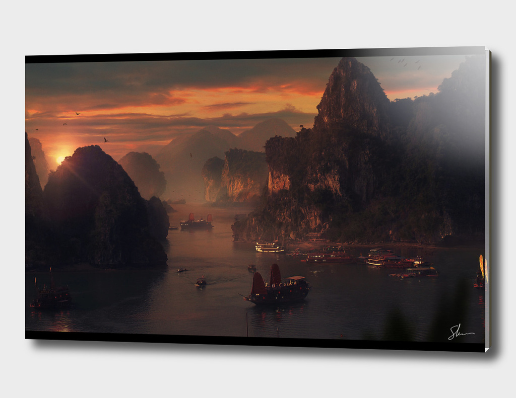 A HA Long Sunset