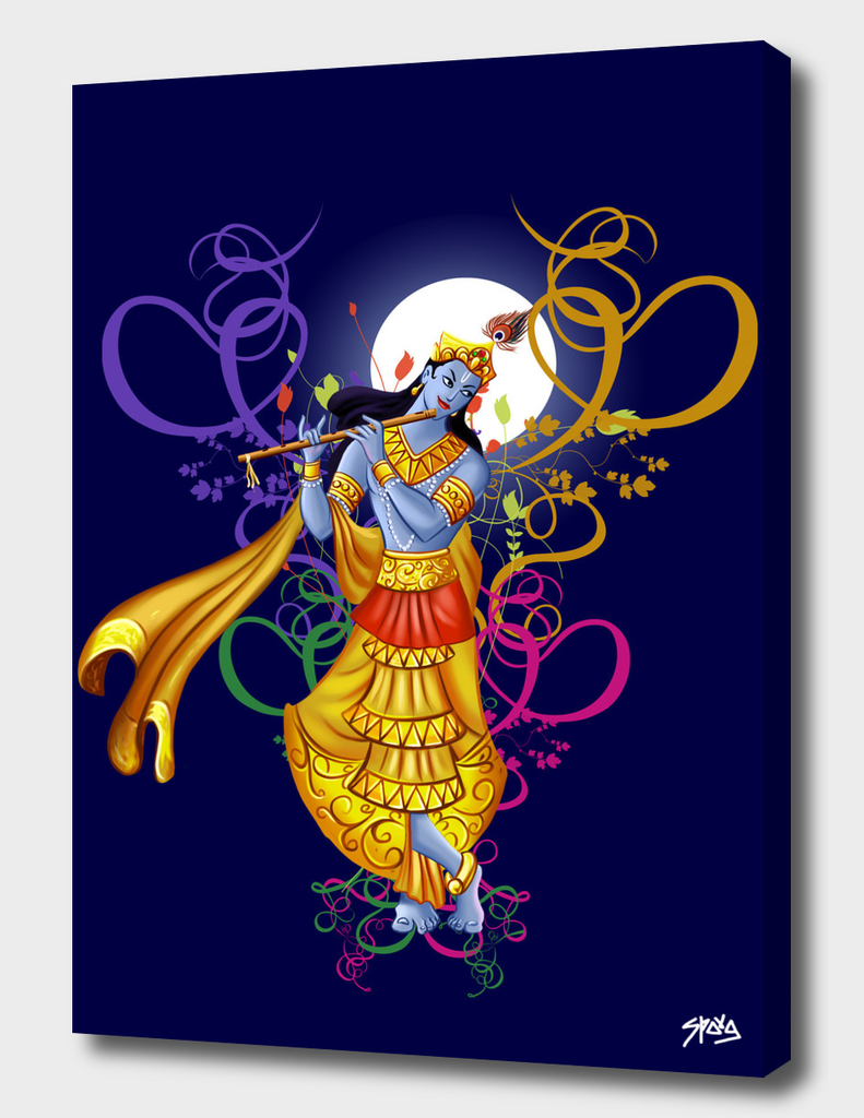 Krishna and His Magical Music