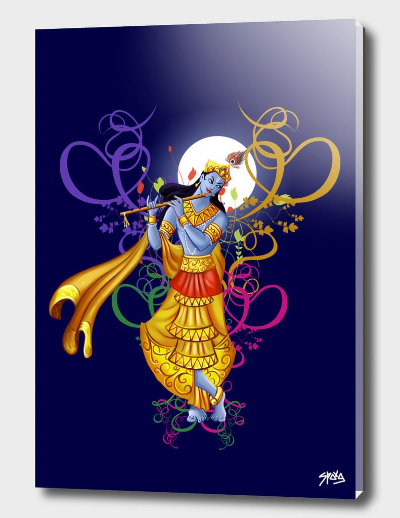 Krishna and His Magical Music