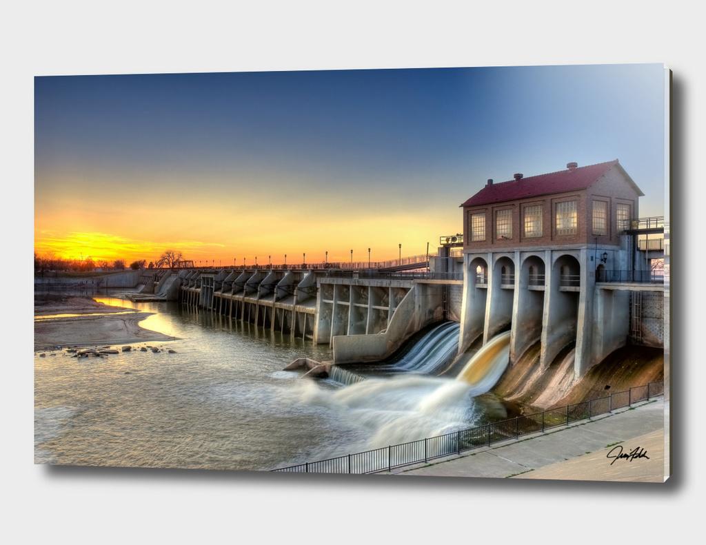 Overholser Dam