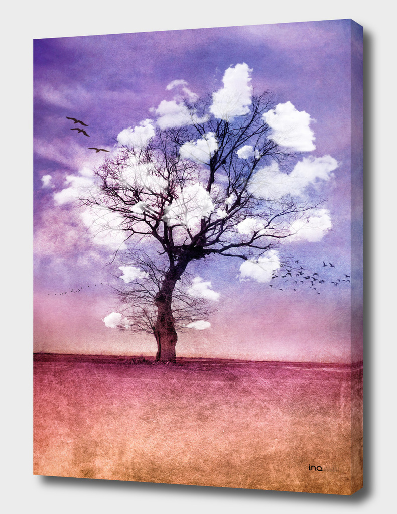 Atmospheric Tree with Clouds II