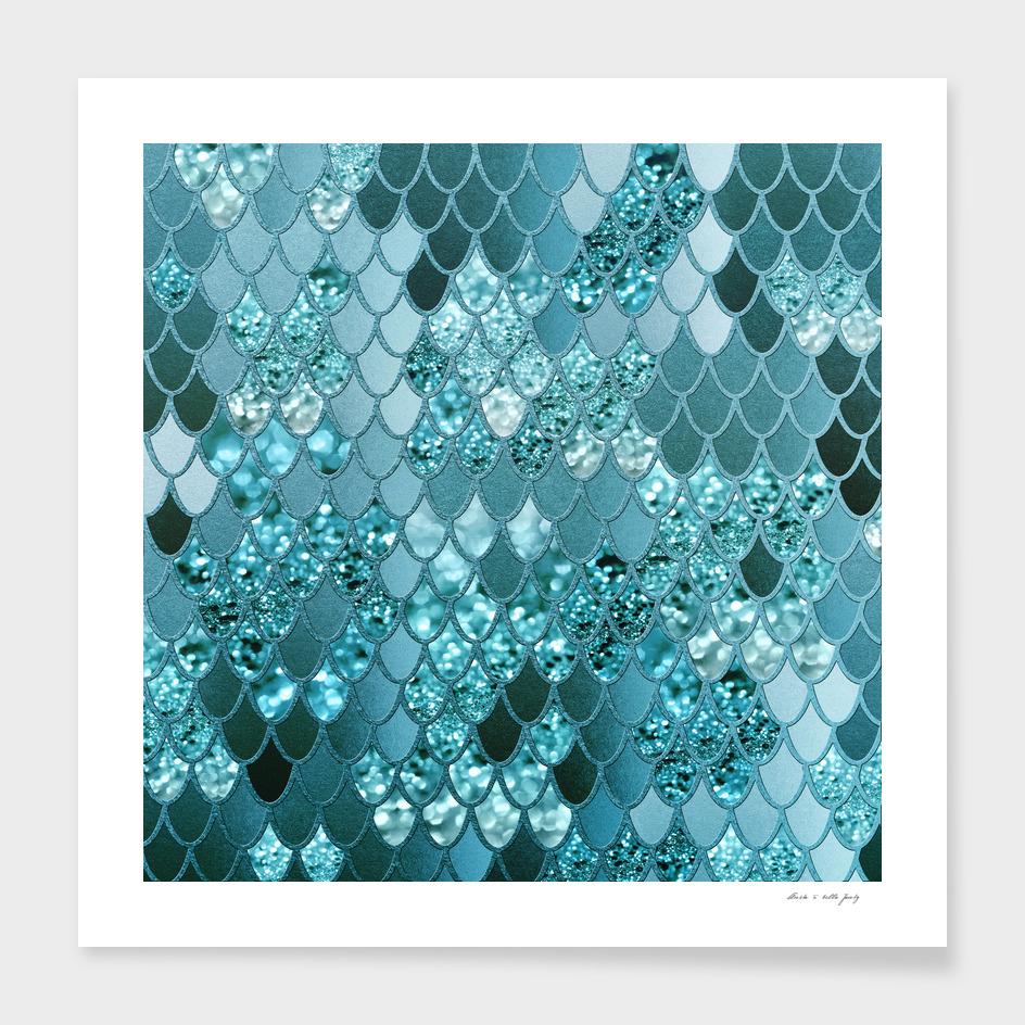 Mermaid Glitter Scales #4 #shiny #decor #art