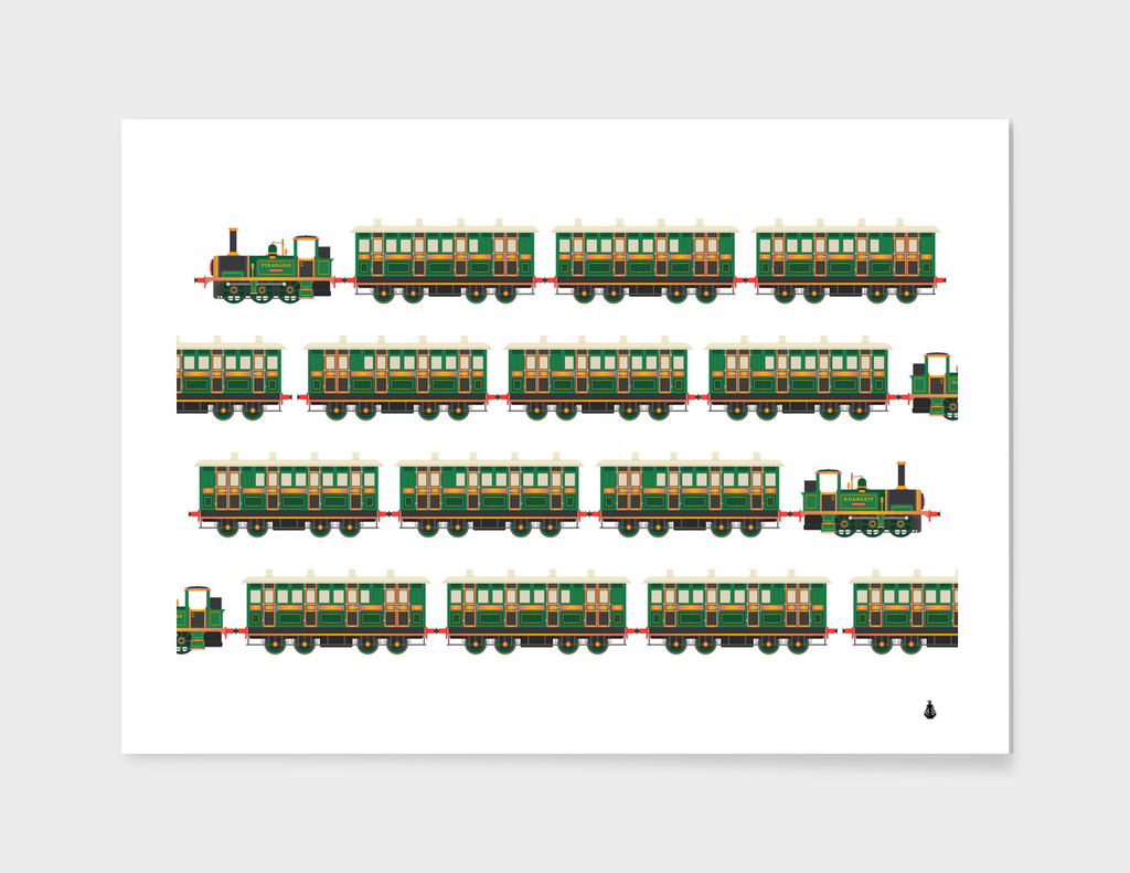 trains pattern transportation