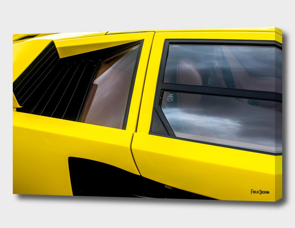 Lamborghini Countach Abstract