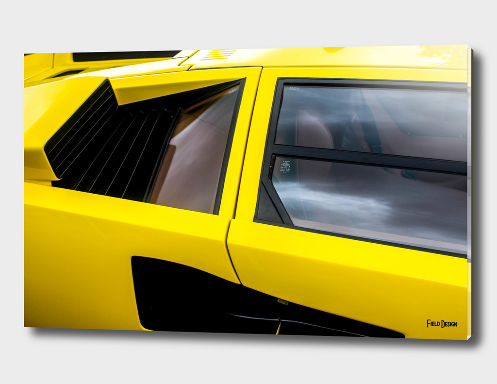 Lamborghini Countach Abstract