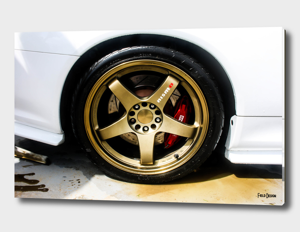 Nissan Skyline Wheel Abstract