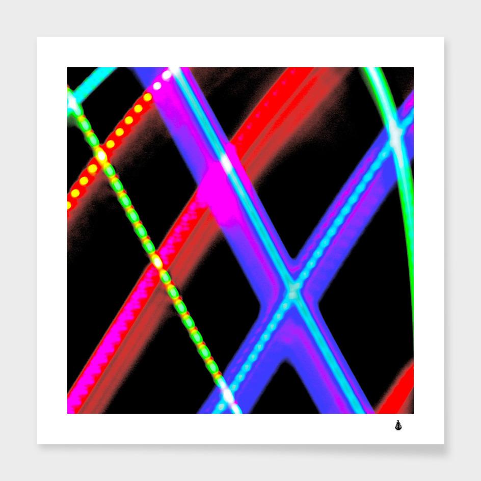 Xmas light paintings