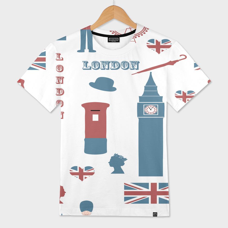 london icons symbols landmark