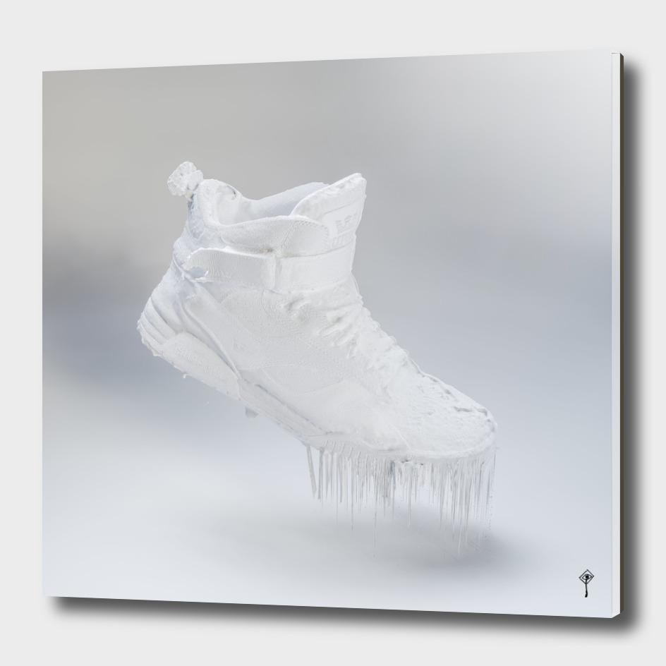 Silent shoe