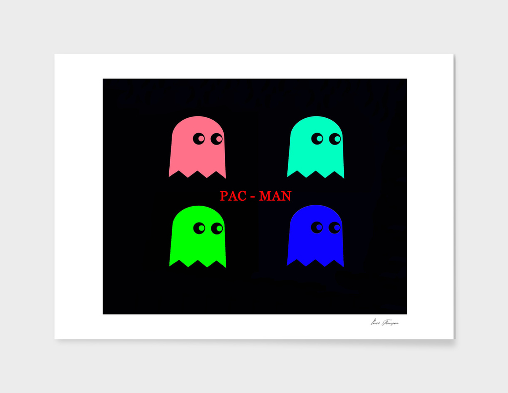 PAC - Man Pop Art