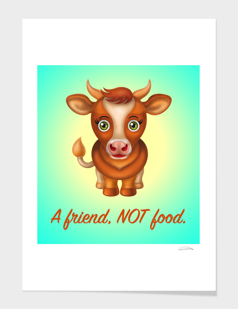A Friend NOT Food