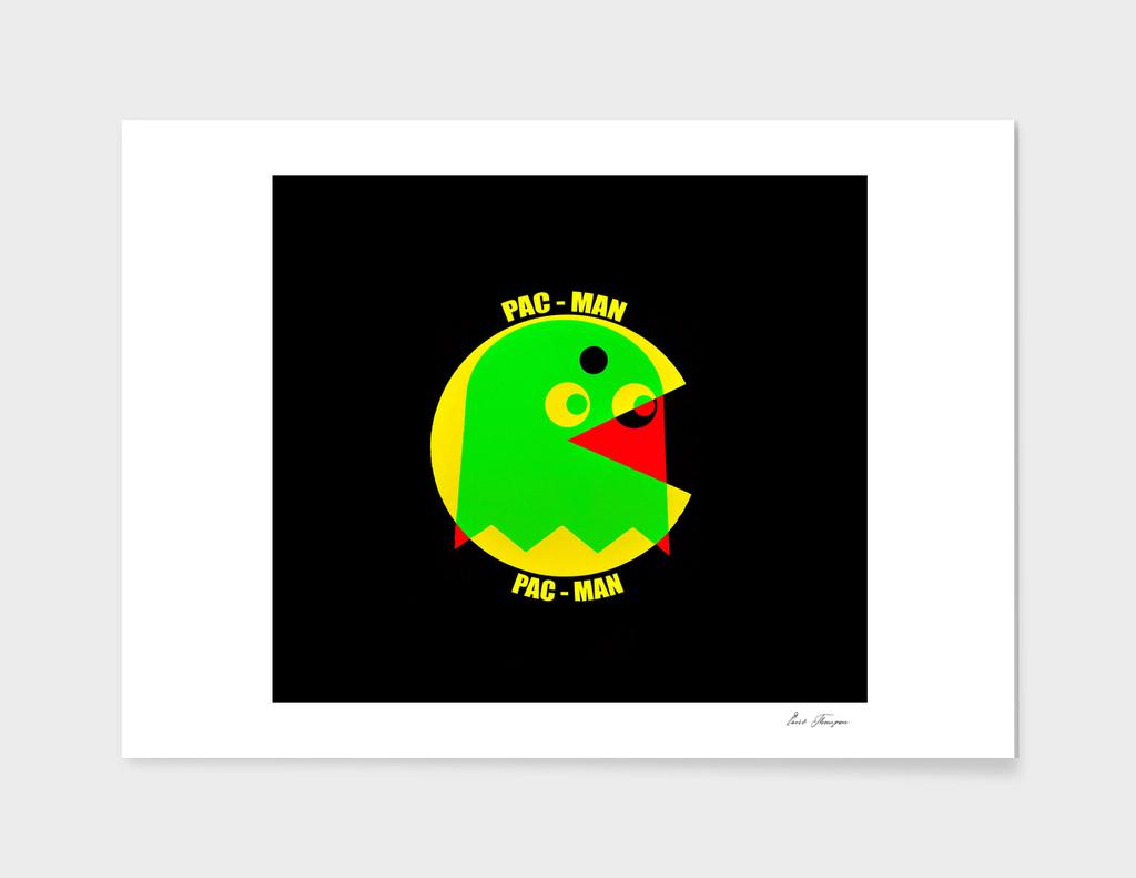 Pac Man victory Pop Art