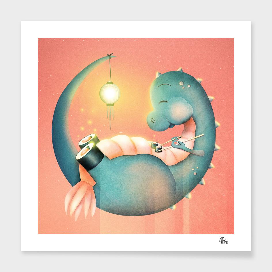 Sushi Dinosaur