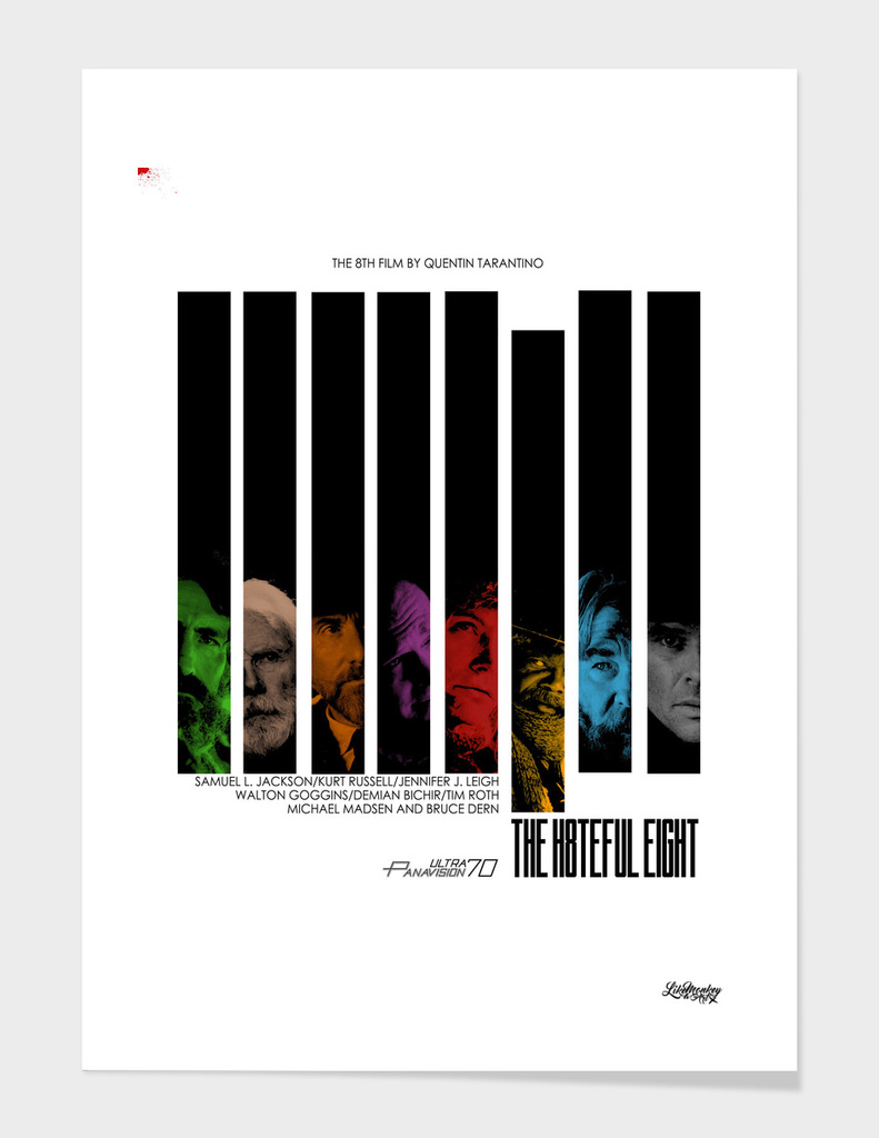 The hateful jazzy poster