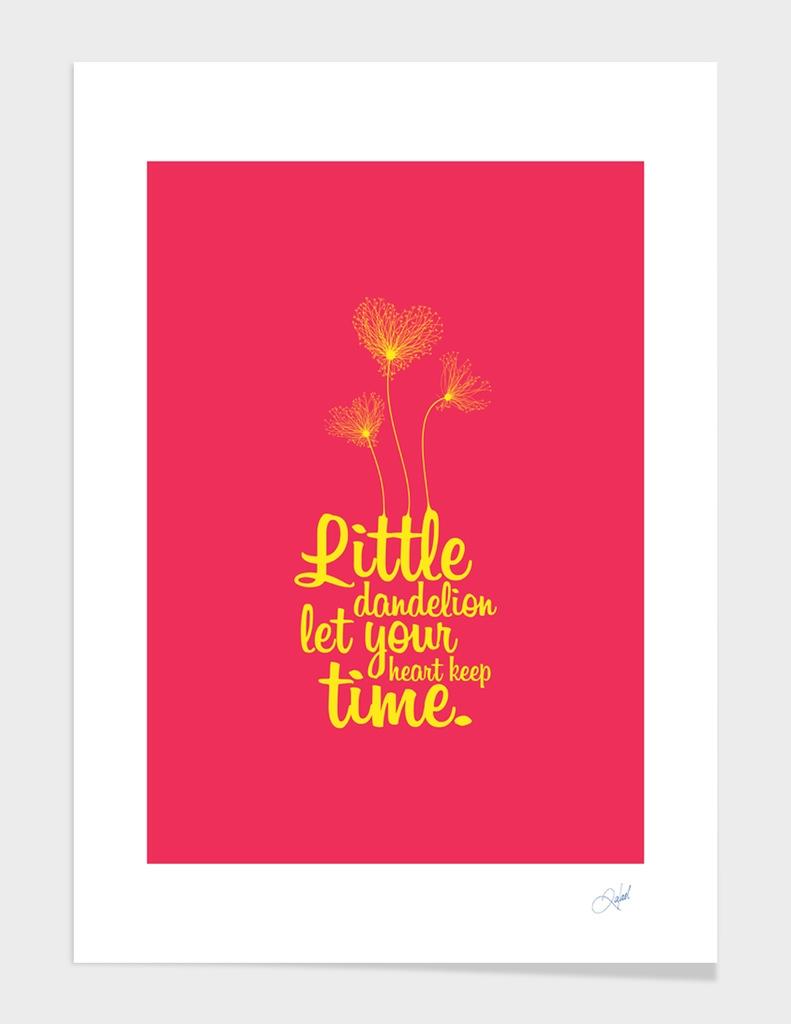 Little Dandelion