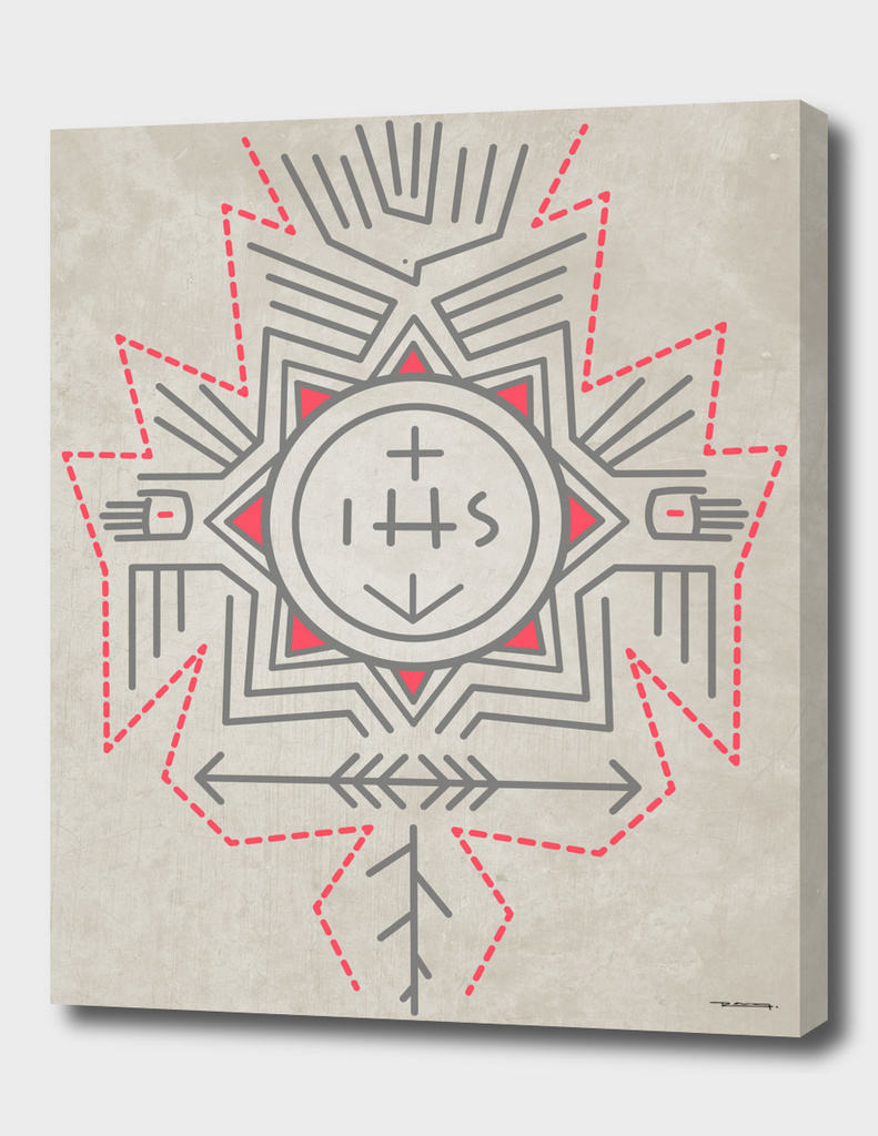 IHS Religious Jesuit symbol