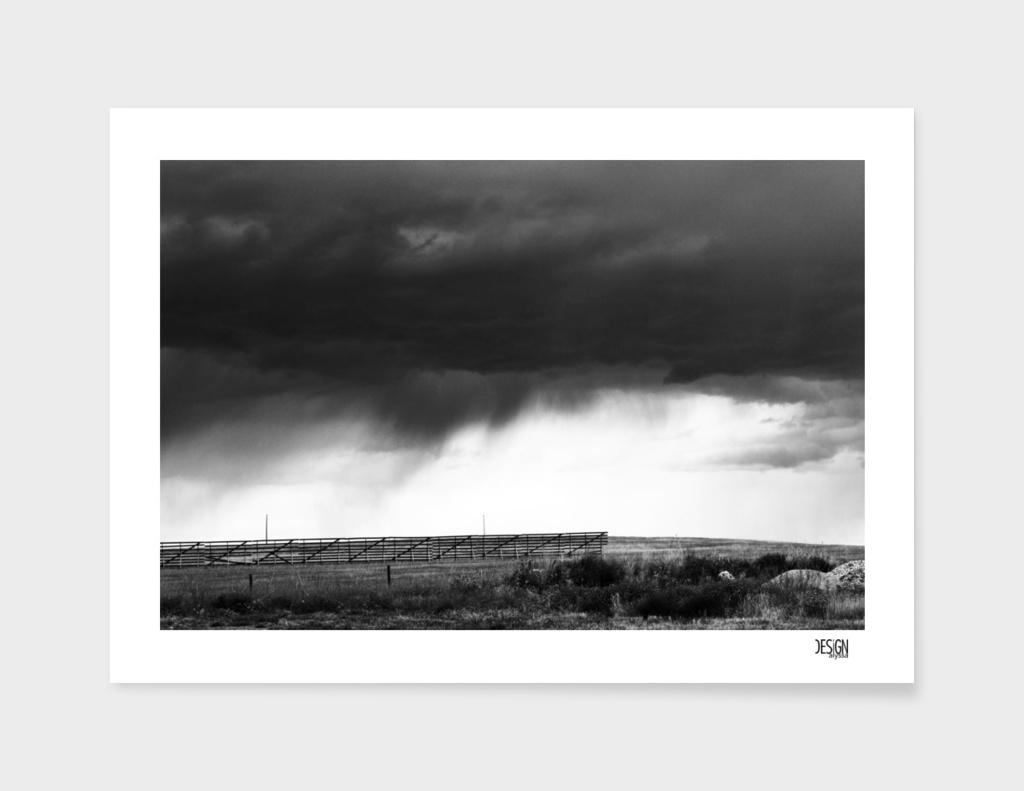Black Storm - Digital Photograph