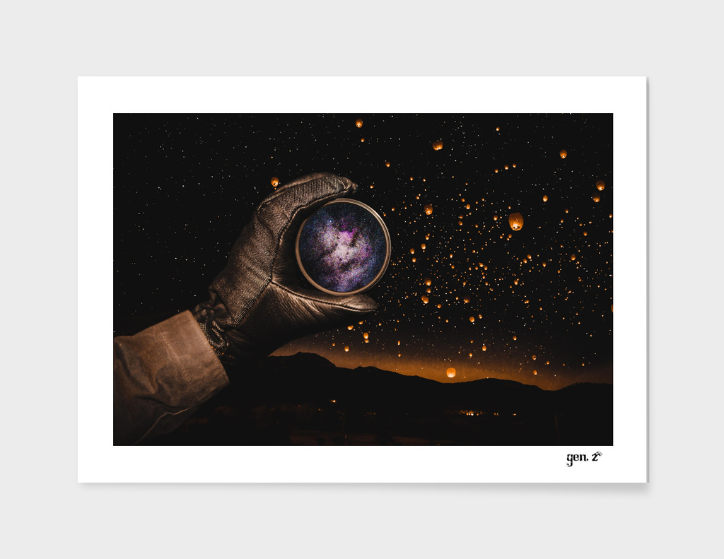 A piece of The Milky Way by GEN Z