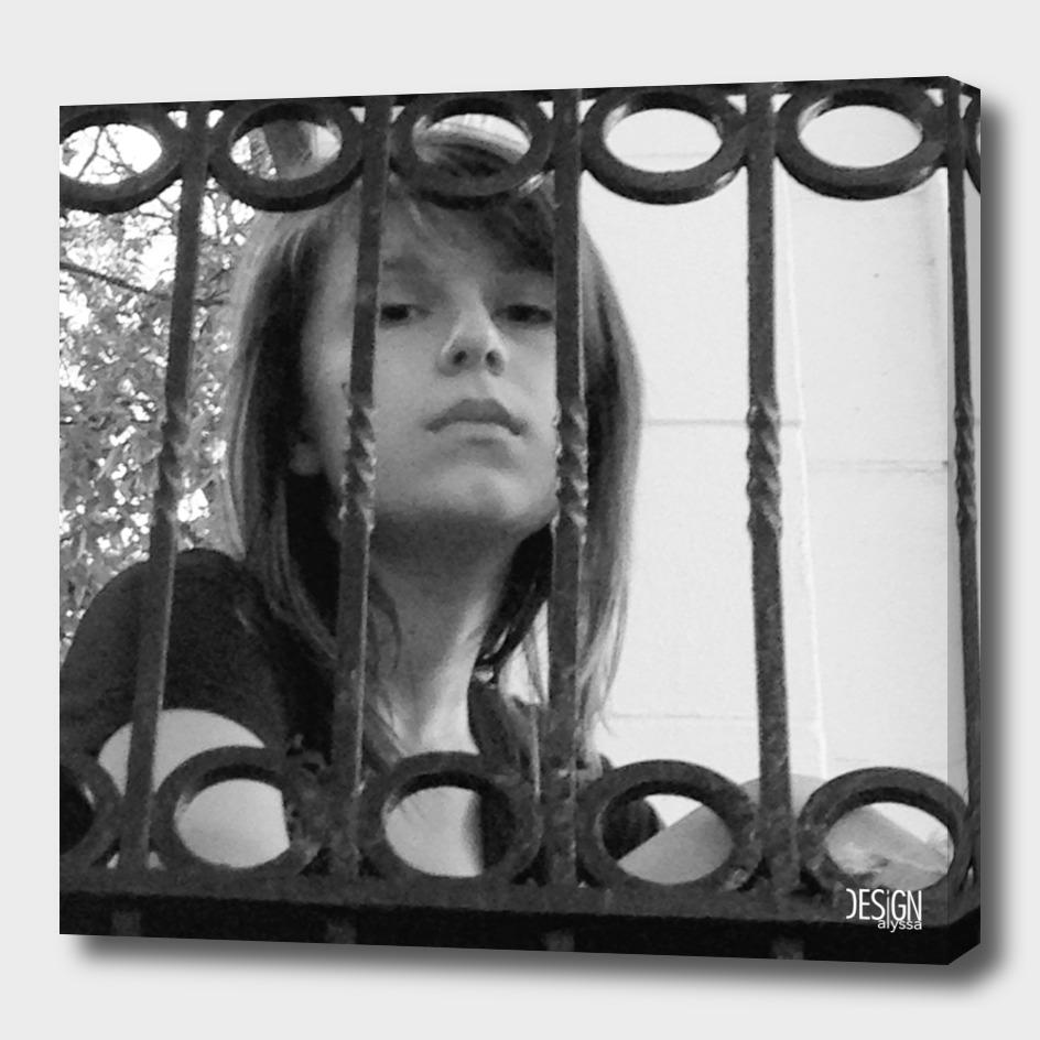 Locked Away - Digital Photograph