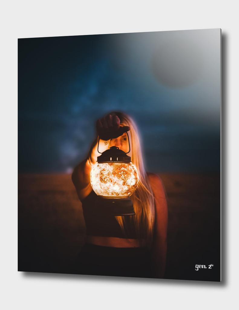 Moon Lamp by GEN Z