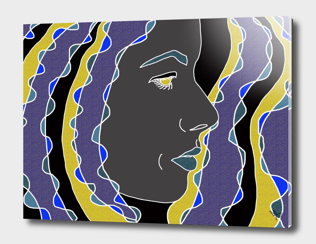 Blue Black Gold