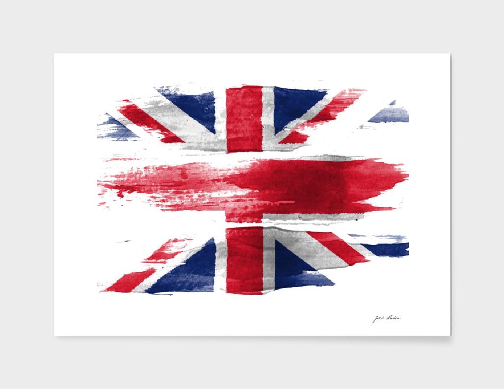 custom Watercolor Canada Flag