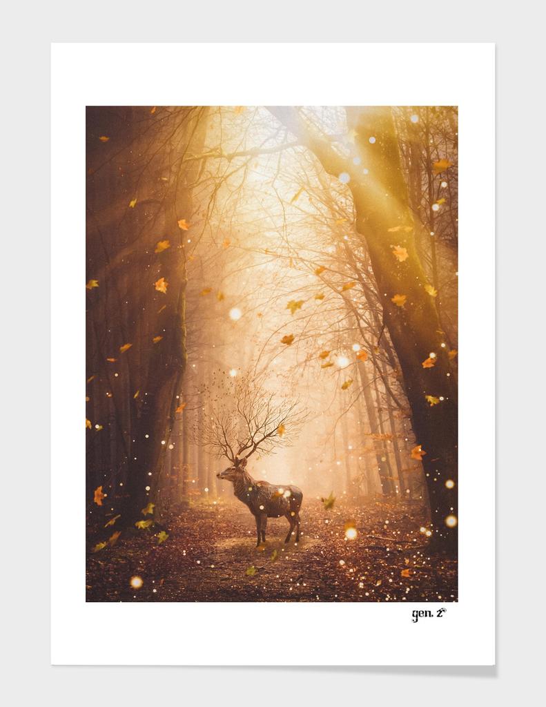 Morning Magic Deer by GEN Z