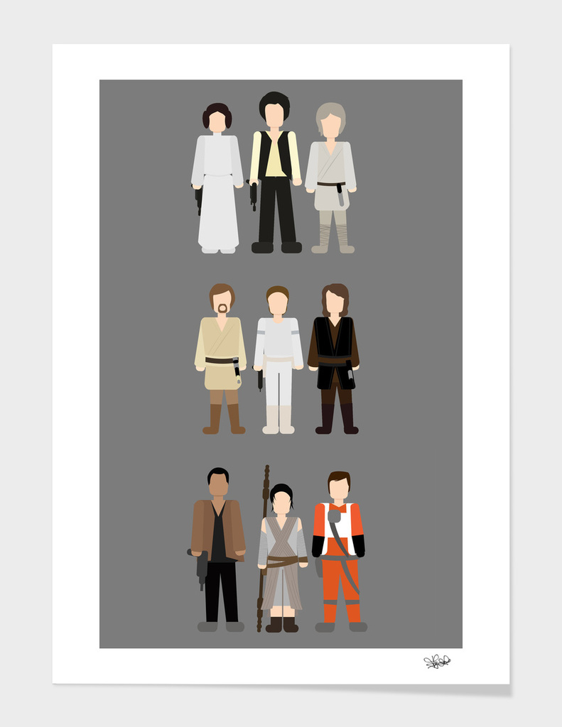 Star Wars All Time Trio