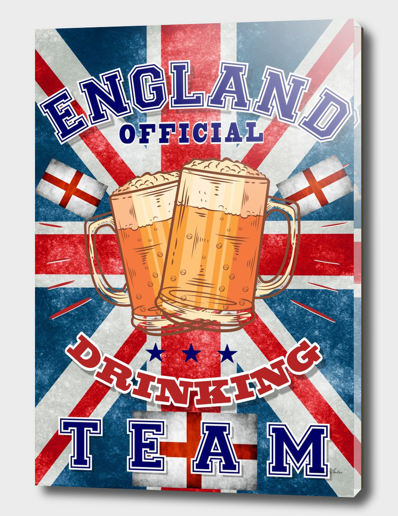 England Drinking Team, Beer poster, Beer t-shirt