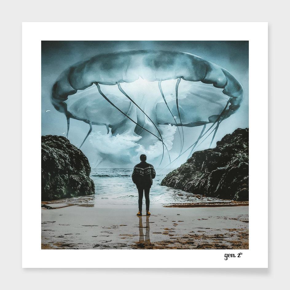 Jellyfish in the Sky by GEN Z