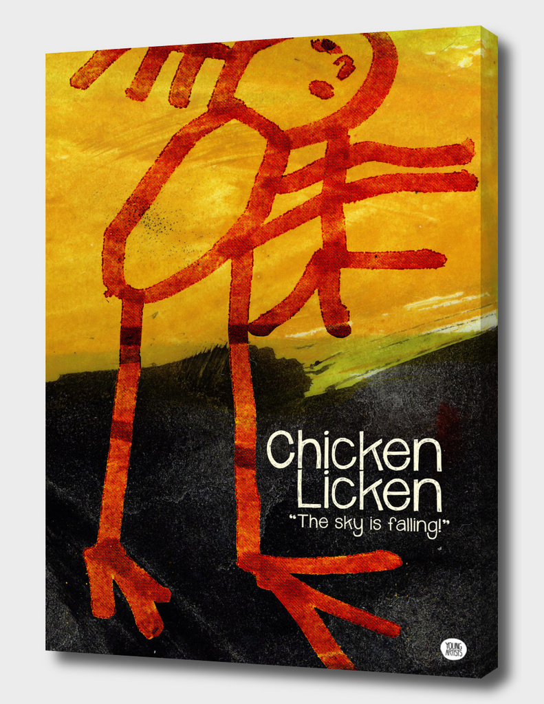 YA02 CHICKEN LICKEN 300dpi 50x70
