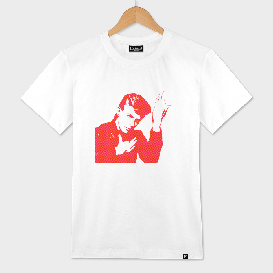 David Bowie    Halftone   Pop Art