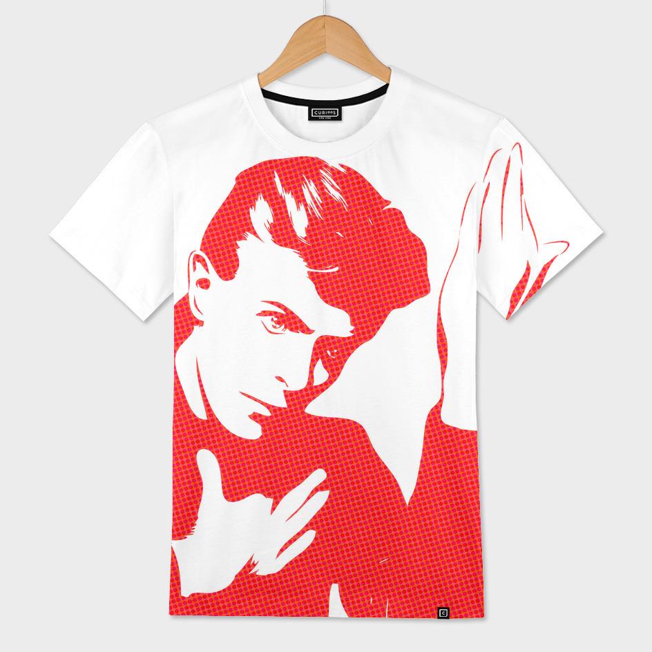 David Bowie |  Halftone | Pop Art