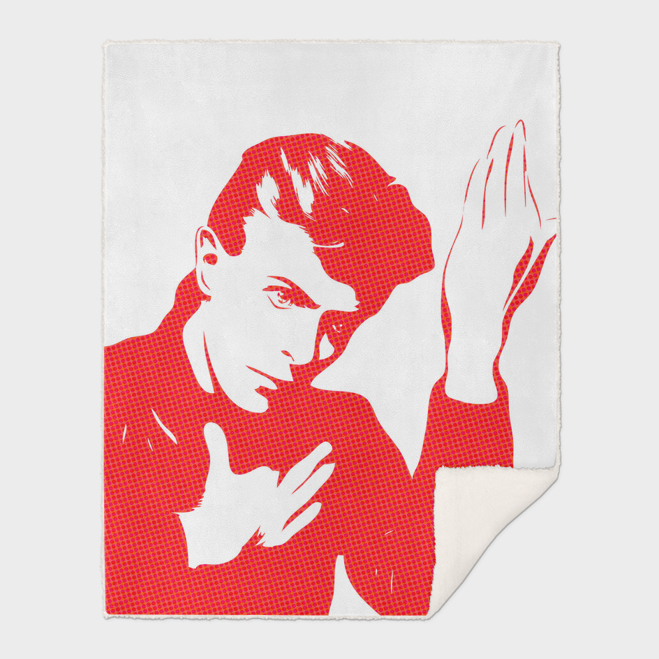 David Bowie |  Halftone | Pop Art
