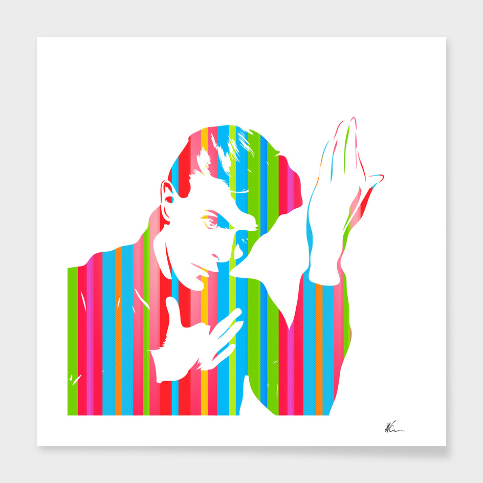 David Bowie | Color | Pop Art