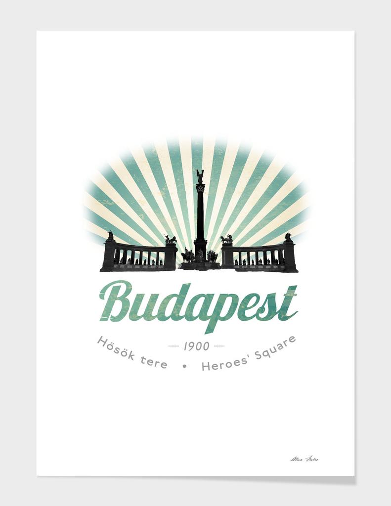 Budapest, Heroes' Square, Hosök tere, Hungary