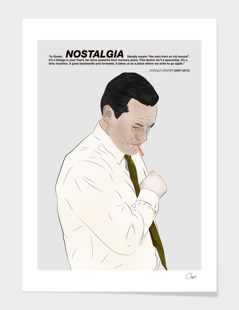 Don Draper Nostalgia
