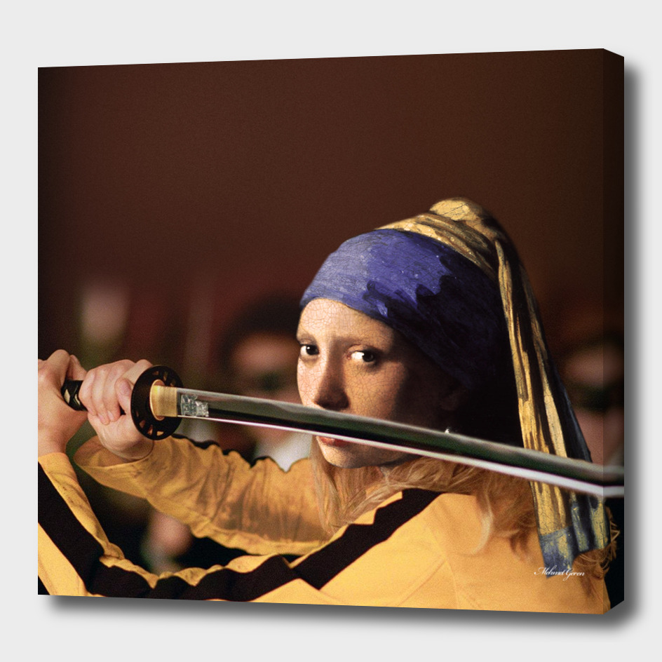 Kill Bill with Pearl Earring Girl