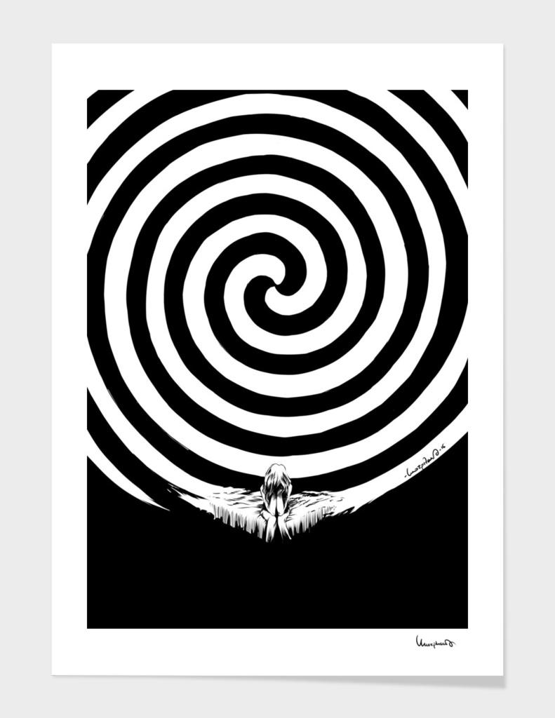 spiral woman
